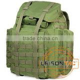Tactical Backpack with Metal Frame/Adopting high strength 1000D nylon, dealt with waterproof and flame retardant treatment