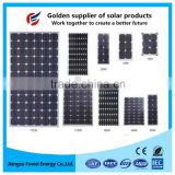 High efficiency12V solar battery 190W solar panel for Bus and Bike station