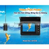 3.5'' Marine Waterproof Fish Finder Underwater Video Camera System 15m Fishing Wire
