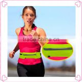 Hot design flip belt running belt,waist sweat belt,sports running belt