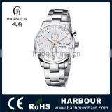 High End Solid All Stainless Steel Chronograph Sapphire Mens Watch                                                                         Quality Choice
