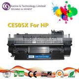Premium compatible toner cartridge CE505X for HP LaserJet P2055d toner cartridge,made in China
