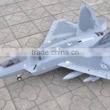 F-22 jet powered foam rc remote control airplane
