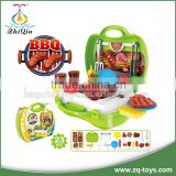 Kids bbq grill set toy barbeque toy kitchen toys with EN71, ASTM, HR4040, 14P test report