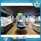 Fashionable hot sale luxury jewellery showroom furniture design