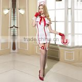 Wholesale Sexy Lingerie Girl Costume Uniform Cosplay Gstring Underwear Adult Nurse Uniform