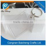 wholesale blank plastic acrylic keychain with your logo and design supplies top quality and cheap price for you/goods in stock
