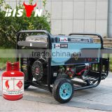 BISON Hot Air Cooled 4 Stroke 5kw Portable LPG Gas Generator Price                                                                         Quality Choice