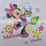 Iron on glitter heat transfer vinyl customized heat transfer papers