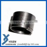 Heavy load square wire spring
