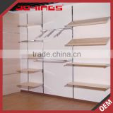 Foshan Supplier DIY Wall Mounted Retail Clothing Store Furniture