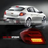 2014-2016 CHEVY CRUZE BRAKE STOP TAIL LIGHTS LAMPS ASSEMBLY + LED TURN SIGNAL (Fits: Cruze)