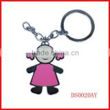 2014 custom high quality keychain manufacturer / metal,pvc, lively logo keychain keyring factory