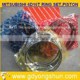 MITSUBISHI 6D16T ENGNE GENUINE PARTS,PISTON RING SET