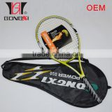 Men tennis racket with plastic bags in China factory OEM
