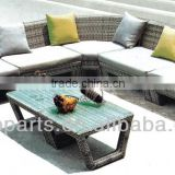 2016NEW DESIGN garden furniture rattan sofa set outdoor Furniture wicker furniture WICKER SOFA FOR SALE