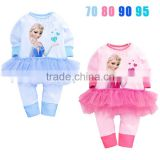 knitted infant&toddler baby girl clothing sets baby girl romper suit