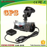 OEM Support SQ Motion Detection Dash Cam 1080p Dual Channel Car DVR With GPS Dual Channel
