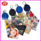 Alibaba New Design Microfiber Glasses Cleaning Cloth With Keychain Pouch