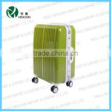 pc travel luggage with hard shell case spinner wheels ,new fashion rolling suitcase HX-1526