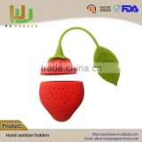 Highly Appreciated Safe and Sound Recyclable mini silicone tea bag holder with factory direct sell price