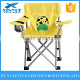 Folding animal cartoon children chair, kids chair with 210D carrying bag for camping