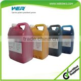 2015 Hot Selling WER first grade quality solvent based dye ink for spectra polaris printer