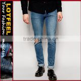 monkey wash jeans man skinny jeans pant with Rip Knee jeans wholesale turkey mens jeans trousers(LOTA043)