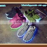 2016 fresh rechargable yeezy boost 350 led shoes