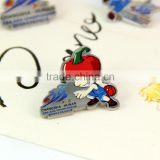 commemorative exquisite pin badge,3D sticker promotive souvenir metal badge