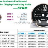 (STRM)Tile saw continuous rim diamond blade for chipping-free cutting Marble--STRM-sunny
