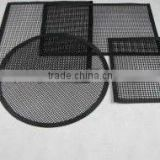 PTFE wire mesh sheet,,Non-sticky ,eco-friendly,High temperature PTFE fiberglass fabric anti-slip baking mesh mat