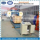High Production Wood Timber Harvester Band Sawmill Hrizontal Wood Saw Machine