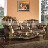 Antique Relaxing Chaise Longue/Living Room Fabric Couch/Leisure Reclining Chair,Arabia Style Living Room Furniture