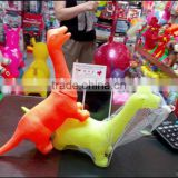 2014 Custom Made High Quality Vinyl squeaky Toy ,Hot Sale blank intelligent DIY Vinyl Child Toy