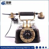 Custom business gift resin retro telephone factory