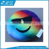 Wholesale 12.5cm 15cm colorful emoji expression stuffed soft toys