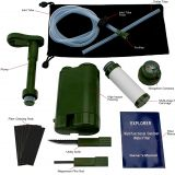 Field survival must have multi-functional mini outdoor water filter