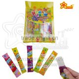 Honey Chew Fruity Flavor Soft Sour Chewy Candy