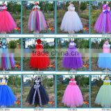2013 new style kid ball gown dresses sweet 3 layers flower girl tutu dress tutu grown with headband