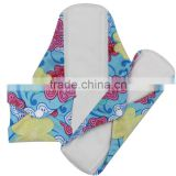 Washable bamboo material breathable menstrual pads women underwear