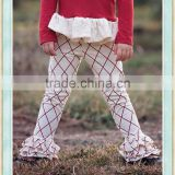 icing ruffle toddler pants sew sassy icing leggings red lattice tripple ruffle pants sets