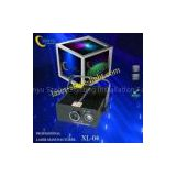 XL-04 green led background RB pattern 200mW blue &120mW red disco laser projector