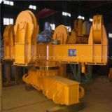 Low Level Slewing Overhead Crane With Carrier-beam