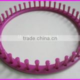 Plastic/ABS round shape knitting loom for making adult hat