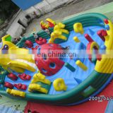 Inflatable Outdoor Amusement Park Game For Kids