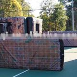 2015 new design cheap inflatable paintball bunker from professional manufacturer