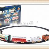 New product plastic railway toy train Electric rail car toys