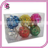 Plastic Christmas ball ,Christmas tree ball,Christmas hang-painted ball animal balloon6/S