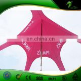 5m Red Star Shaped Tent/Large Event Tent/Marquee Tent from China